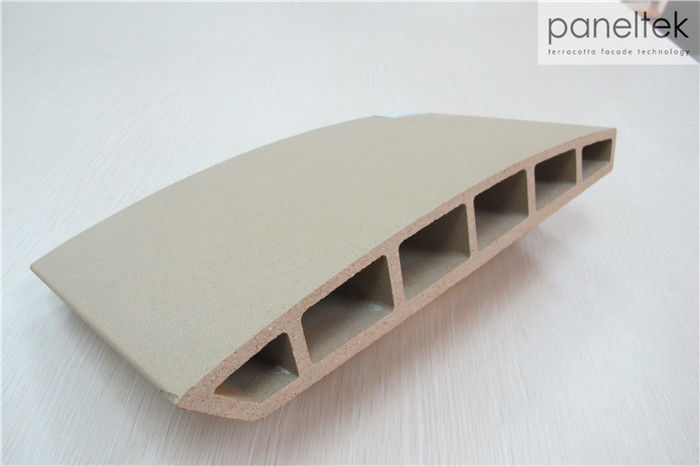 Curved Form External Terracotta Tiles No - Radiation With Freeze Resistance