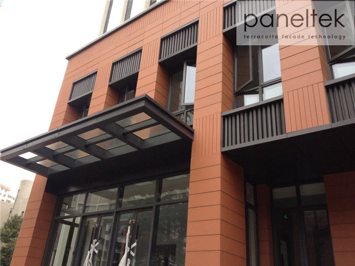 Composite Terracotta Ventilated Facade Materials For Building Façade Systems